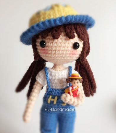 Muñeca De Crochet Crochetyamigurumiscom