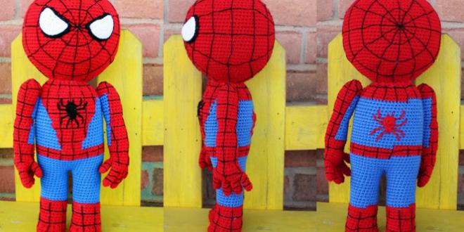 Amigurumi de Spiderman paso a paso - Crochetisimo