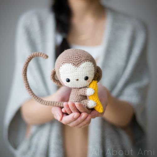 Amigurumi Monkey Patron Gratis : MONO AMIGURUMI CrochetyAmigurumis.com