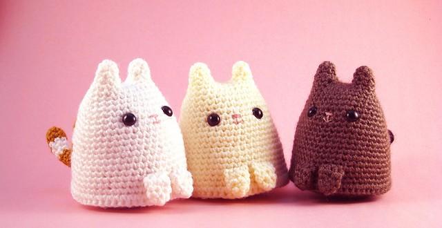 Amigurumis Gatos Patrones Gratis : Gato amigurumi crochetyamigurumis