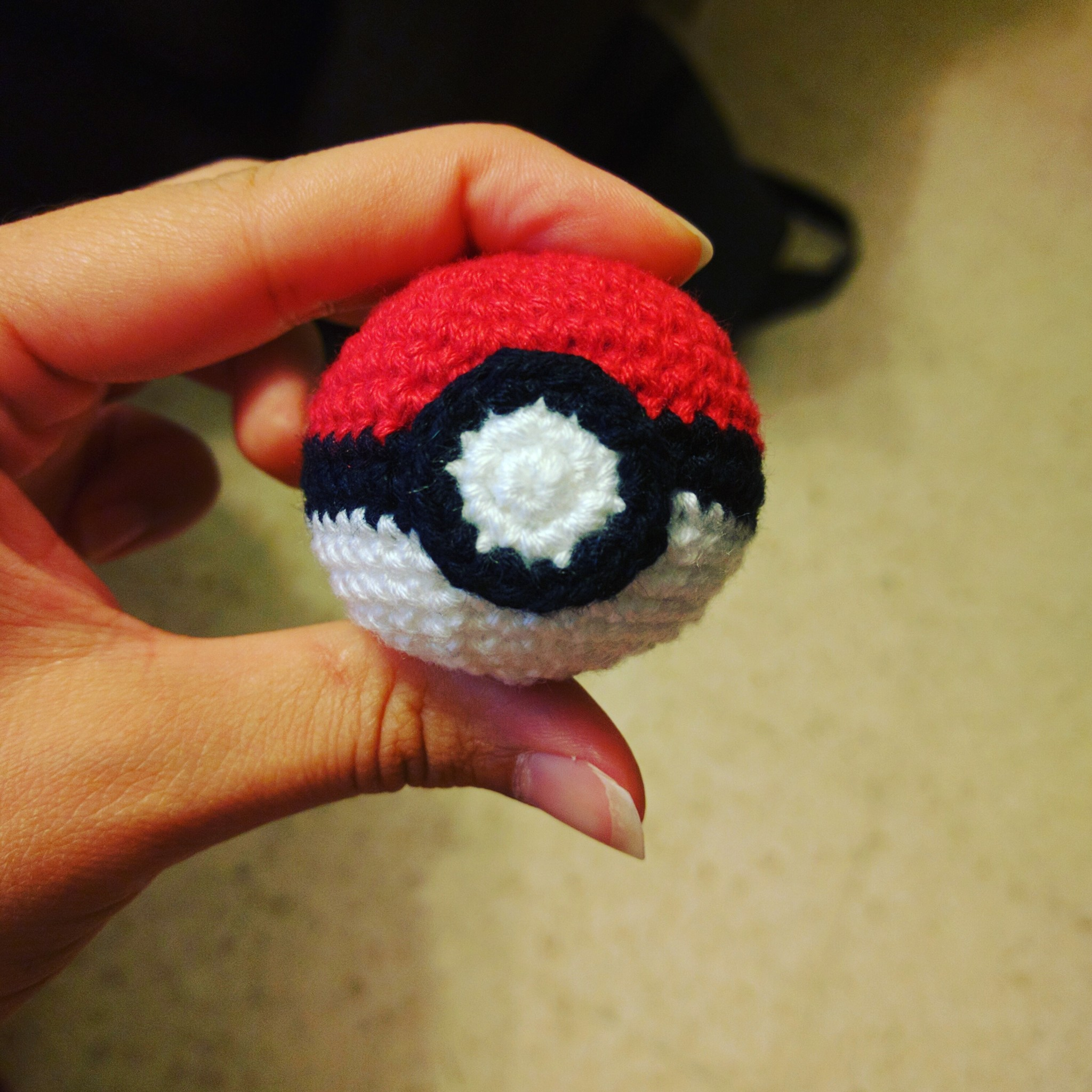 Pokeball de crochet