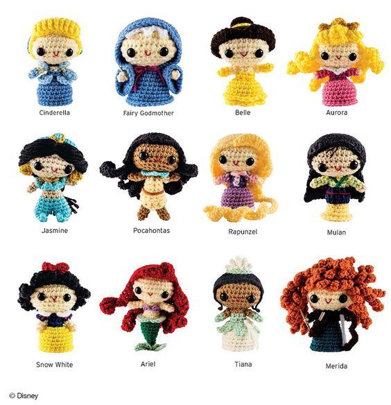 Kit de patrones de amigurumis Disney | Crochet y Amigurumis