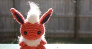 flareon pokemon amigurumi
