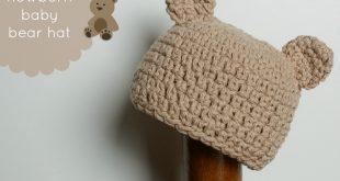 gorro de oso para bebes