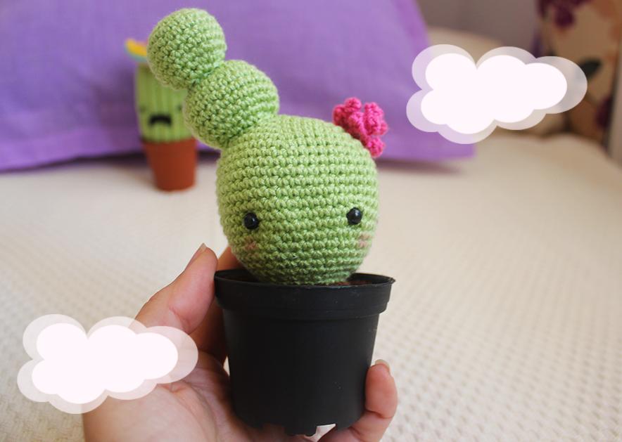 Cómo hacer un cactus amigurumi - How to make amigurumi cactus ... | 629x884