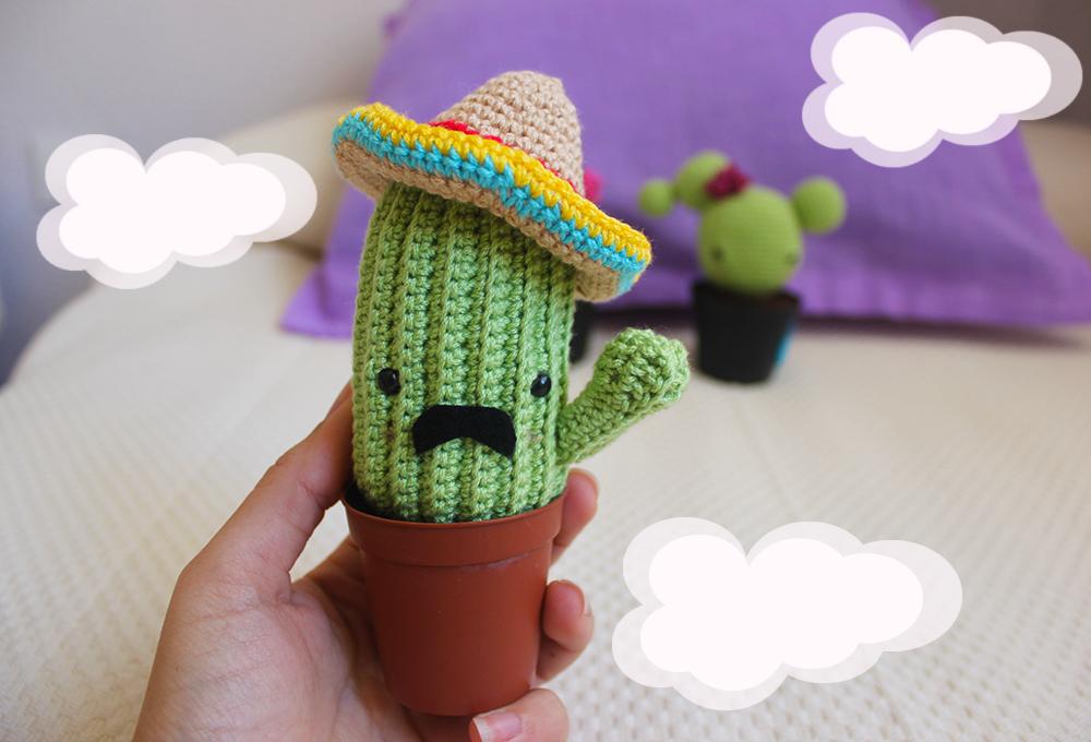 Cactus fácil, fácil: Más patrones - Galamigurumis - Amigurumi ... | 680x1000