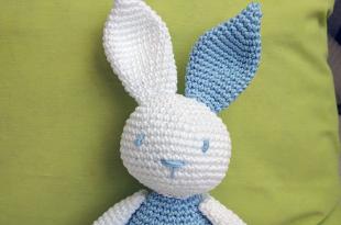 03695deff ¡El conejo de crochet Nico se presenta! Ya hacía alguna semana que no  colgaba ningún patrón en el blog y todo se debe al trabajo y a ciertos  cambios en mi ...