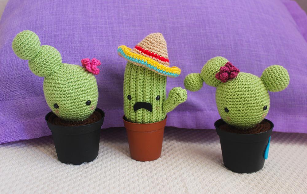 Cactus amigurumi - free pattern - Airali | 631x1000