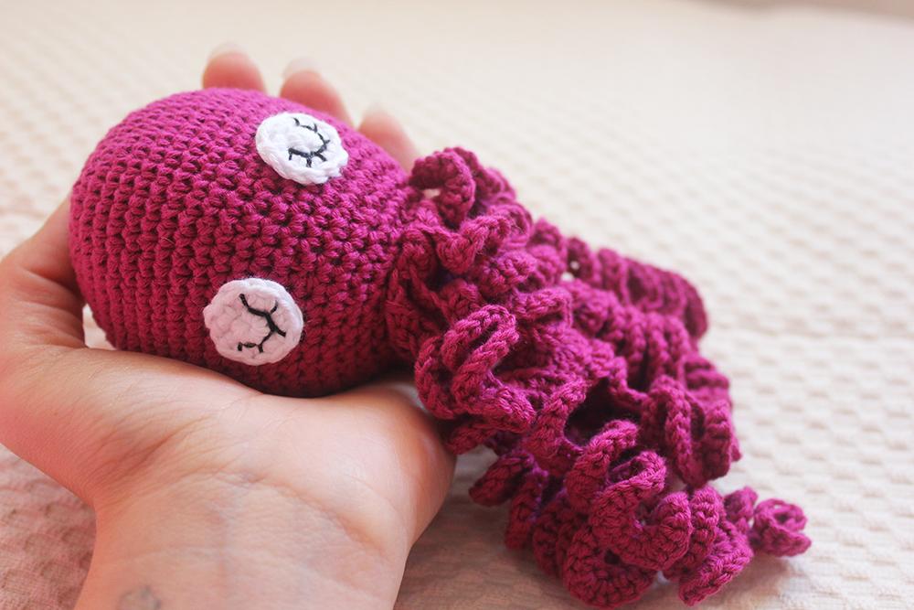 Pulpos Amigurumi Crochet - Tienda Online Nariz De Azúcar - $ 950 ... | 667x1000