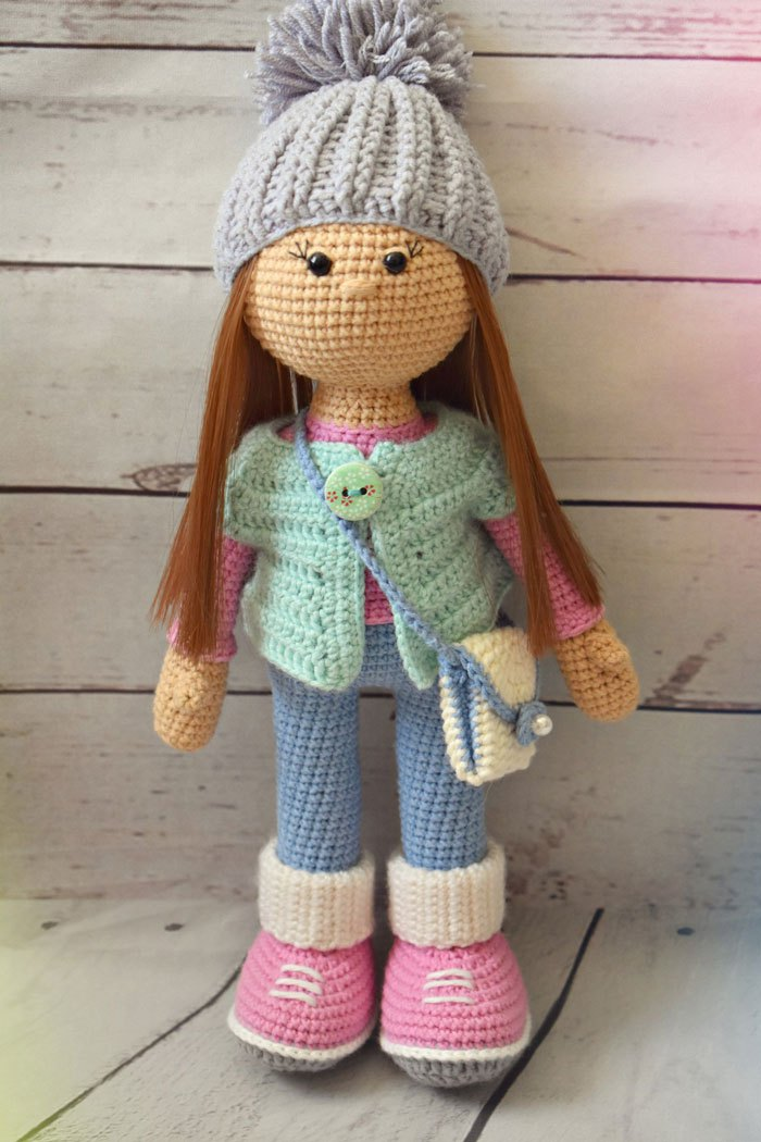 Muñeca de crochet Molly  a57be51e9da