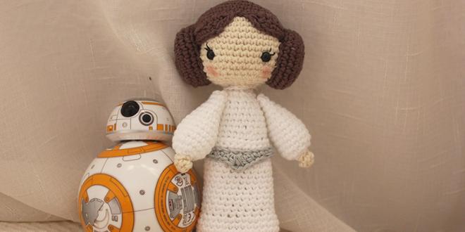Princess Leia crochet pattern, Star Wars crochet, Leia Organa ... | 330x660