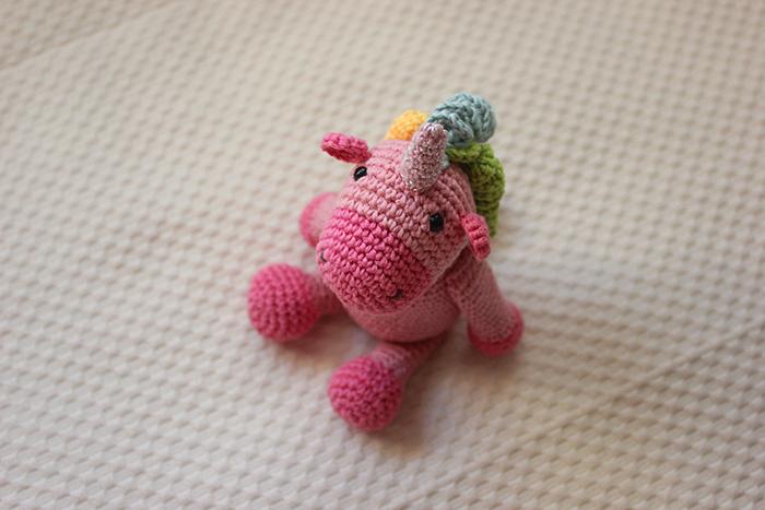 amigurumi unicornio