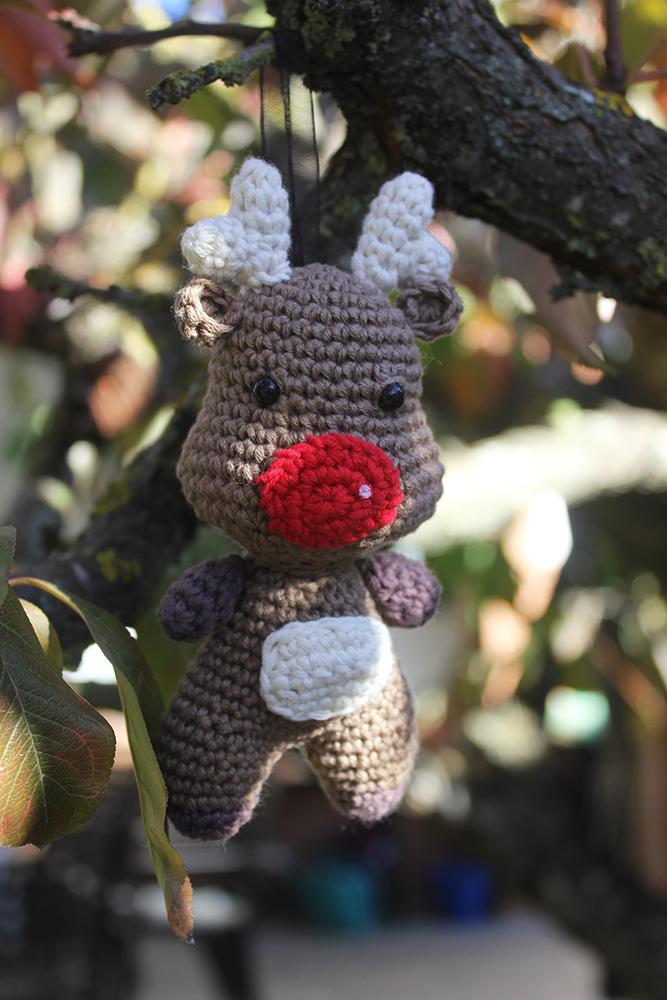 Reno de crochet