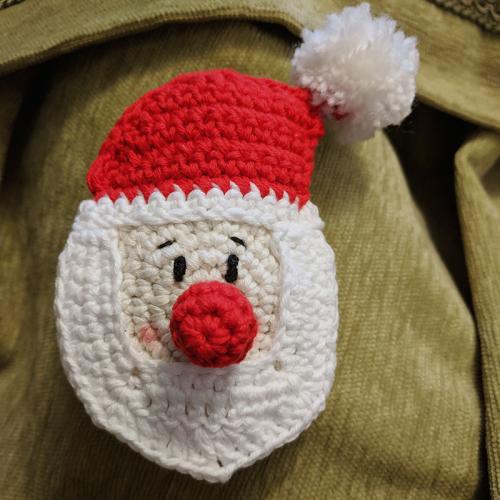 papa noel de crochet