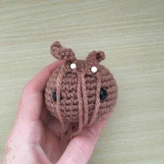 GROOT BEBE Amigurumi Guardianes de la Galaxia Tutorial Crochet ... | 540x540