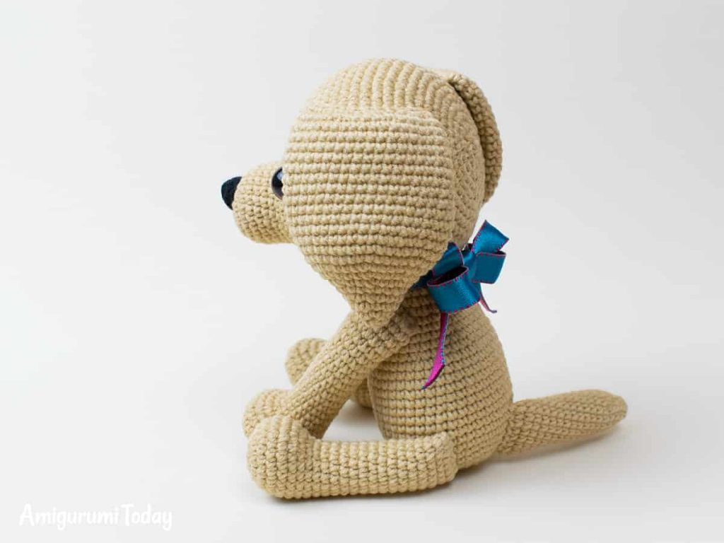 "Perro amigurumi ""Lucky"" | CrochetyAmigurumis.com"