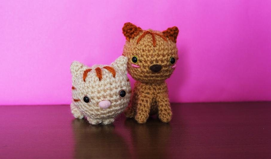 gatos lana patrón | Crochet y Amigurumis
