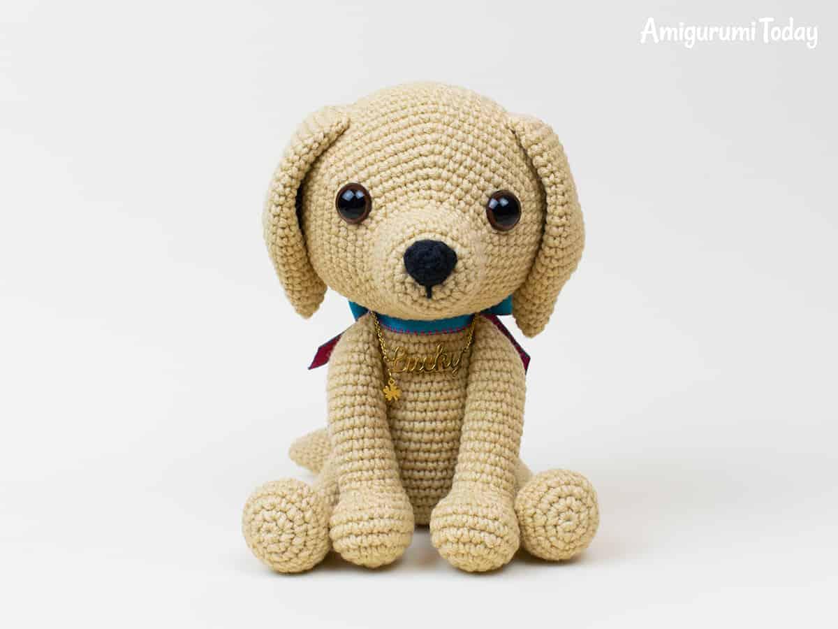 perro corchet lucky | Crochet y Amigurumis