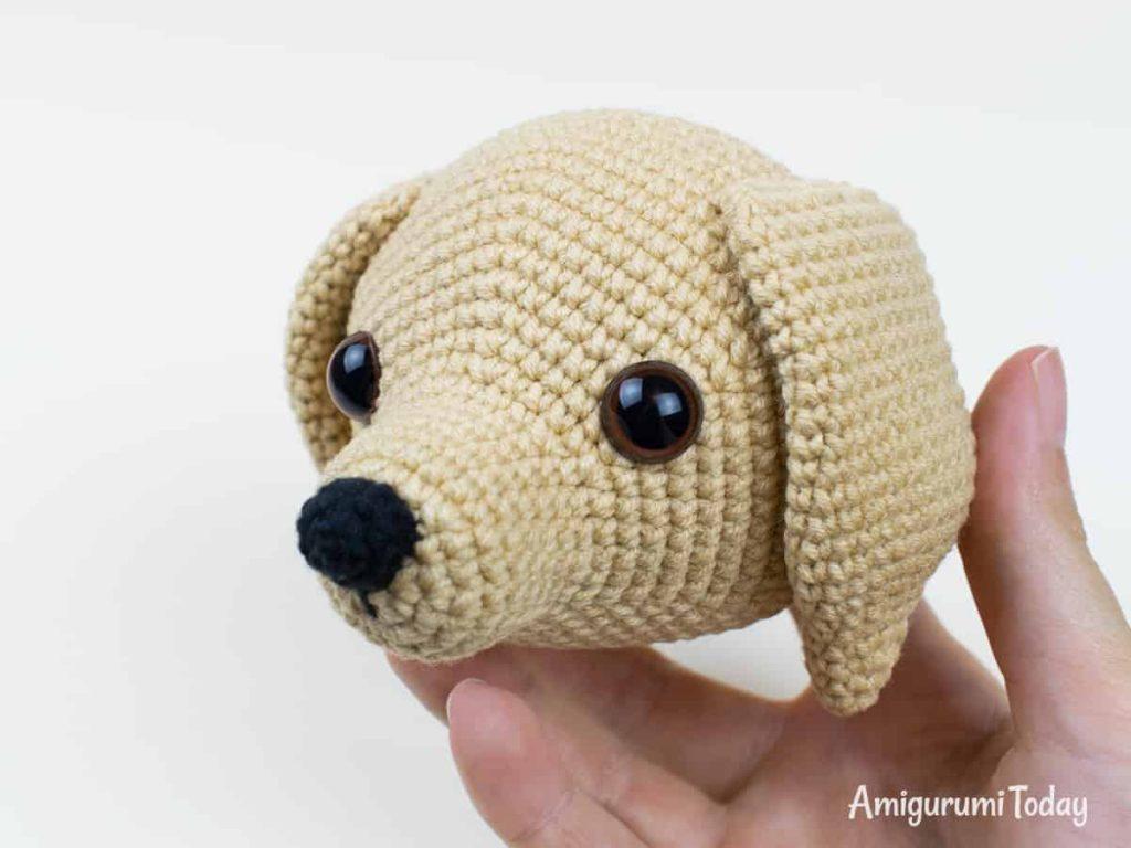"Perro amigurumi ""Lucky""   CrochetyAmigurumis.com"