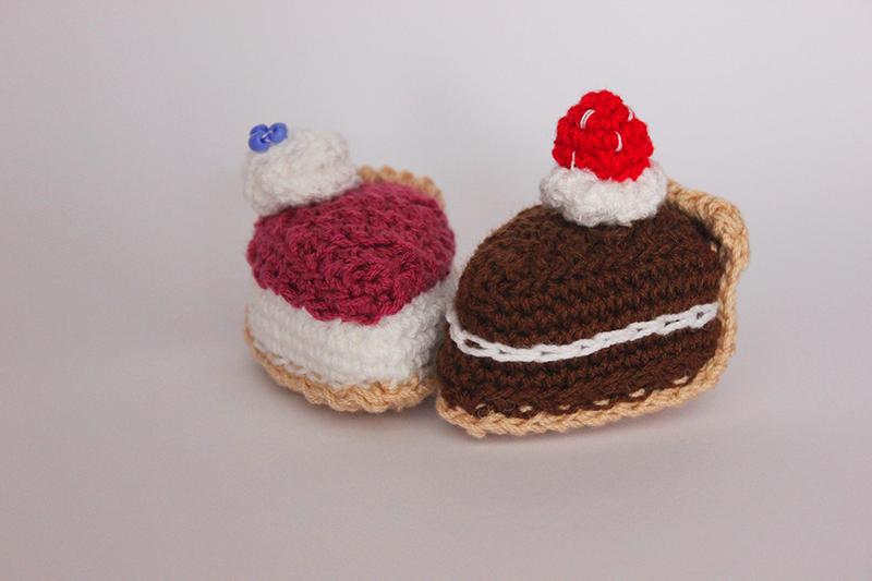 tarta de crochet