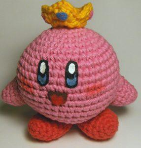 Kirby de crochet