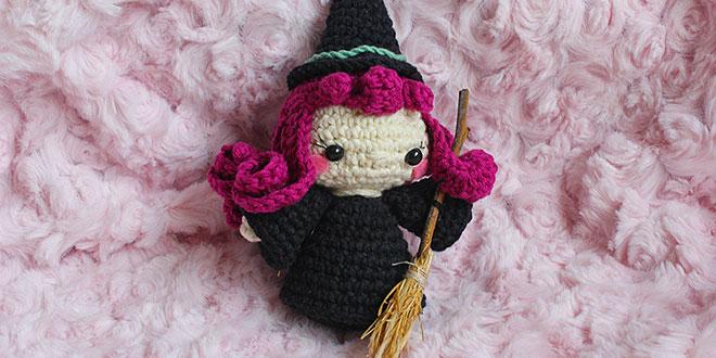 brujita de crochet patron gratis