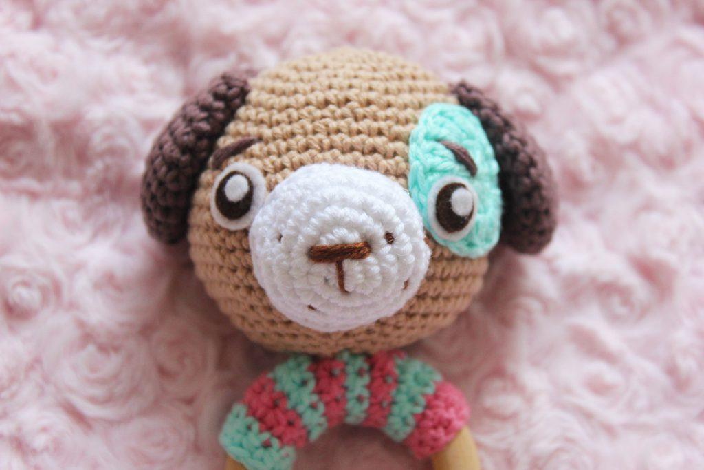mordedor de crochet patrón