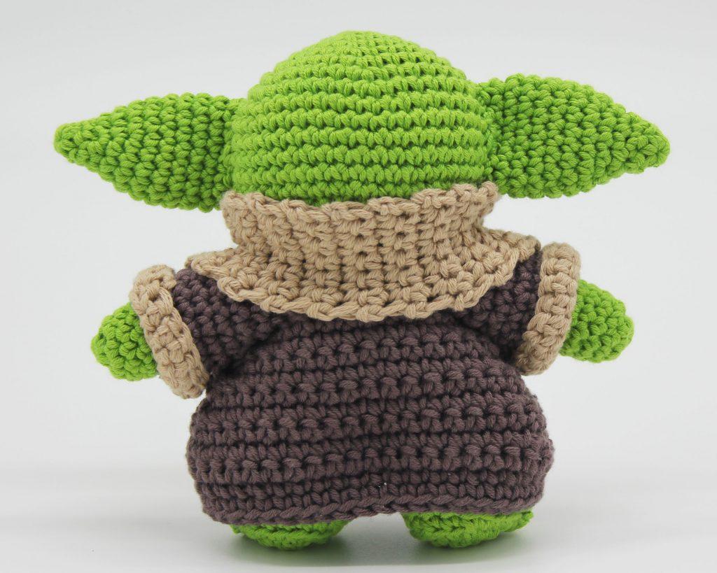 baby yoda crochet