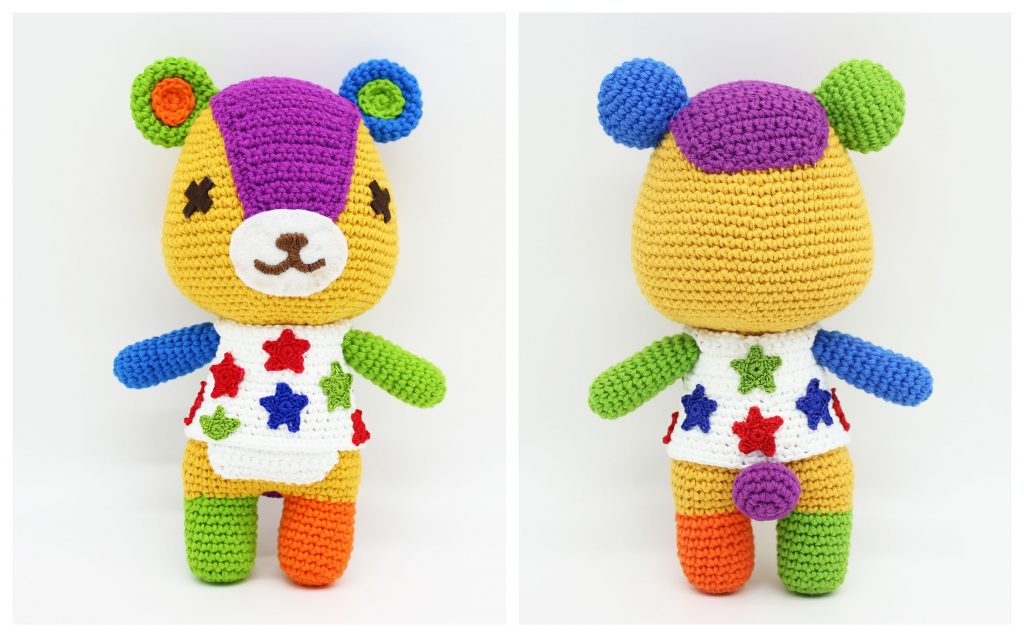 parches animal crossing crochet