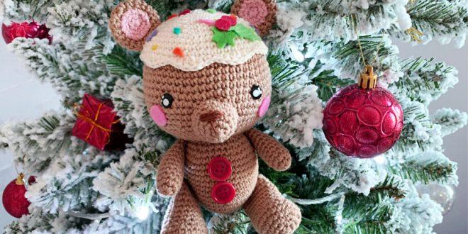 osito navideño gingerbread man