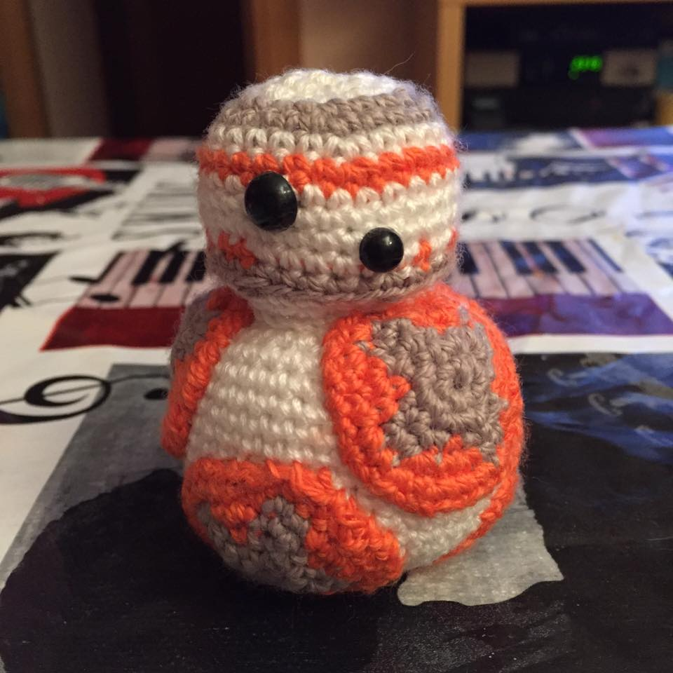 ROBOT BB8 DE STAR WARS | CrochetyAmigurumis.com